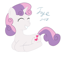 Sweetie Belle by SoUr-MaNtIs