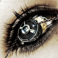 Monocle Eye by wild-kard2003