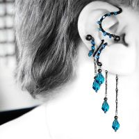 Indicolite Ear Wrap and Cuff Set v19- SOLD by YouniquelyChic