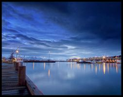 Blue Harbour by Geralttt