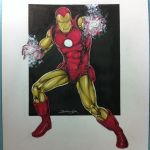 iron Man commission by danielhdr