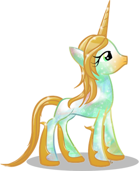 Opaline Unicorn (MLP:FiM Style) by equinepalette