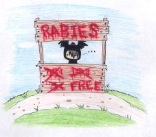 Rabies for Free by TKtheWOLFKIT
