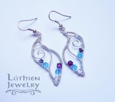 Wire earrings by jill-valentine89