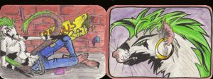 Ravous Rat Aceo Trade by uddelhexe