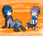 HALLOWEEN IS COMMIN'!! by kaito95