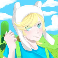 Finn the human by Shubloo