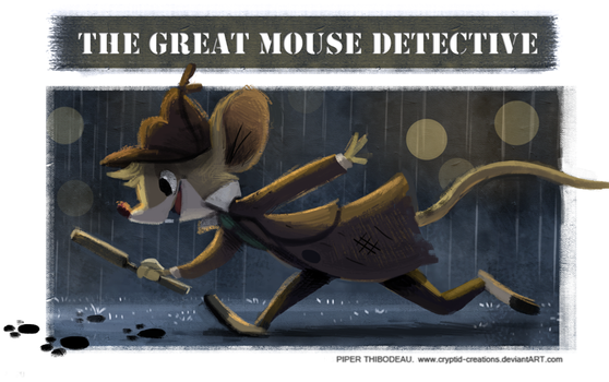 DAY 378. Great Mouse Detective by Cryptid-Creations