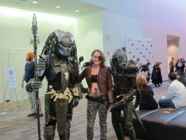 Snake + Alien + Predator @ Mid-Ohio Comic Con by Sashy42