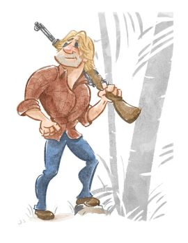 lost sawyer in watercolor by rismo