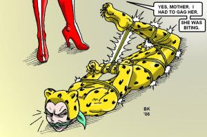 The Cheetah vanquished by GrouchoM