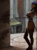 Isabela in Lowtown by characterundefined