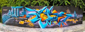 SYCO | Spray paint on wall | 2014 by Syco03