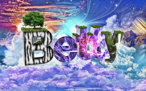 Betty Typography by ultraviolet1981