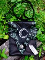 Crescent Moon and Ivy Bag by EireCrescent