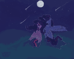 The Stars and The Moon by weepysheep
