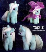 Trixie mini plushie by Voodoo-Tiki