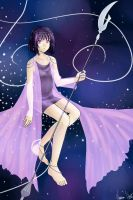 Sailor Saturn's Princess Dress by varaa