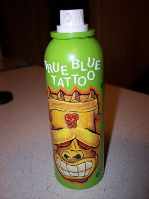 True Blue Tattoo Can made for Russ