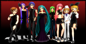 MMD Newcomer Pack: 7 + 1 Deadly Sins by LearnMMD