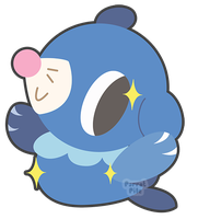 Popplio by Torotix