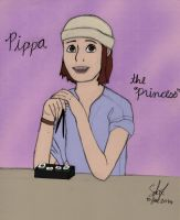 Pippa the Princess (Colored) by JakeNickleby