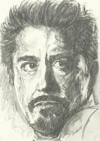 Tony Stark-sketch by SheenaBeresford