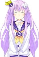 Nepgear Twin Tails by Prinny--Overlord