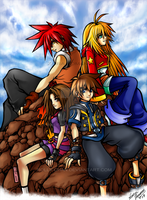 Cumple a la KH xD by Rolly-Chan