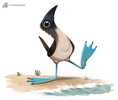 Day 820. BOOBIES!! by Cryptid-Creations