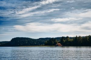 Karelia. Day 1. house on the lake by kiritani-akira