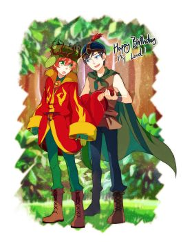 Happy birthday  kyle1 by shiron2611