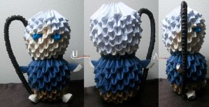 3D Origami - Chibi Jack Frost by Jobe3DO