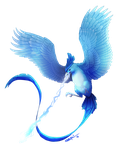 Articuno - Ice Beam by SaraKpn