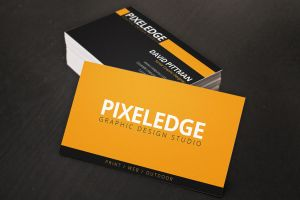 Graphic Designer Business Cards by xstortionist