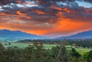 The Valley Red by MarkLucey