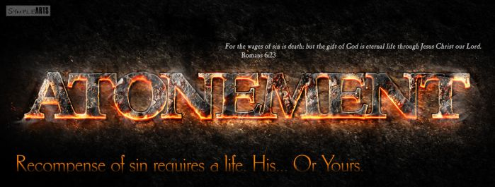 Atonement- Romans 6:23 by SympleArts