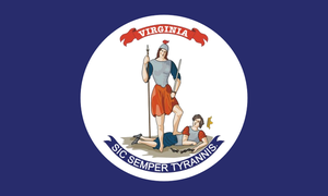 Virginia State Secessionist flag (1861) by OddGarfield