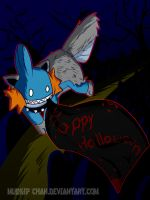 Happy Halloween Mud-chan by mudkip-chan