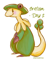 Breloom - Favourite Fighting Type by ditto9