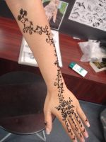 henna tattoo by fourJAYCEE