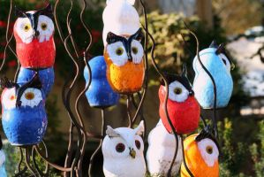 glass owls by ingeline-art
