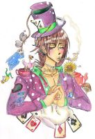 Caravagio as the Mad Hatter by WitchZilla