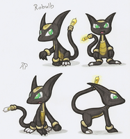 Fakemon: Robulb by avatarjk137