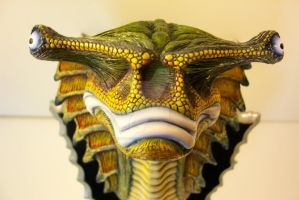 Denjrite Darter trophy head by Dave Britton by BrittonsConcoctions