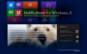 Notifications for Windows 8 by osoalex
