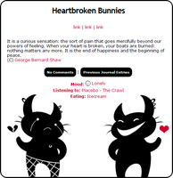 Heartbroken Bunnies by sister-Annabel