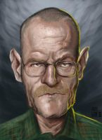 Walter White - Bryan Cranston by Parpa