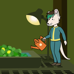 [animated icon] Fallout Shelter: Kailyn by VIcTobious