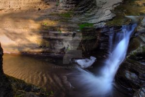 Buttermilk falls 6 HDR by pjs15204